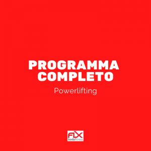 programma completo powerlifting